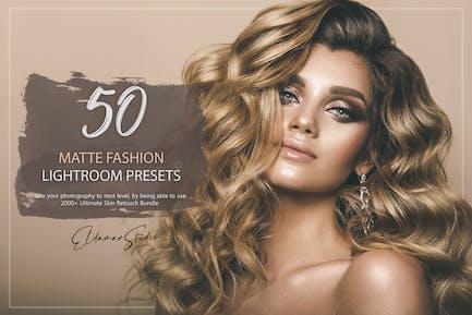 50 Matte Fashion Lightroom Presets
