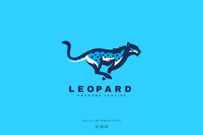 Thumbnail for Snow Leopard Color Mascot Logo