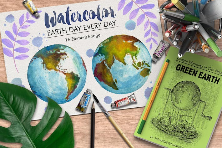 Thumbnail for Watercolor Earth