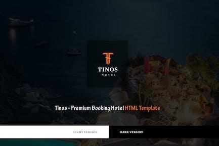 Tinos - Premium Booking Hotel HTML Template