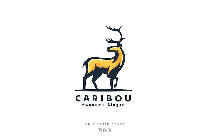 Thumbnail for Caribou Mascot Logo