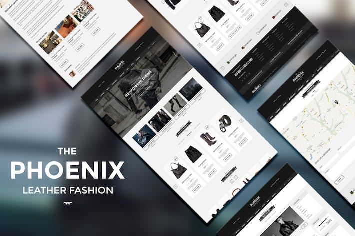Thumbnail for The Phoenix - PSD Template