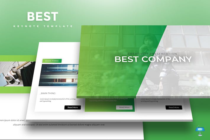 Thumbnail for Best - Keynote Template