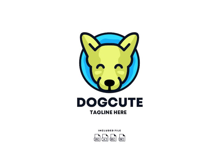 Thumbnail for DogCute Logo Design