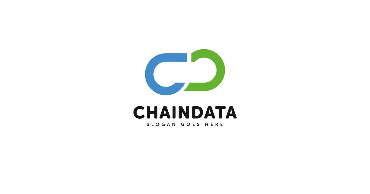 Download Chain Data C D letter Logo Vector Template by Pixasquare