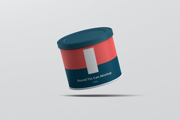 Thumbnail for Tin Can Mockup Round Small