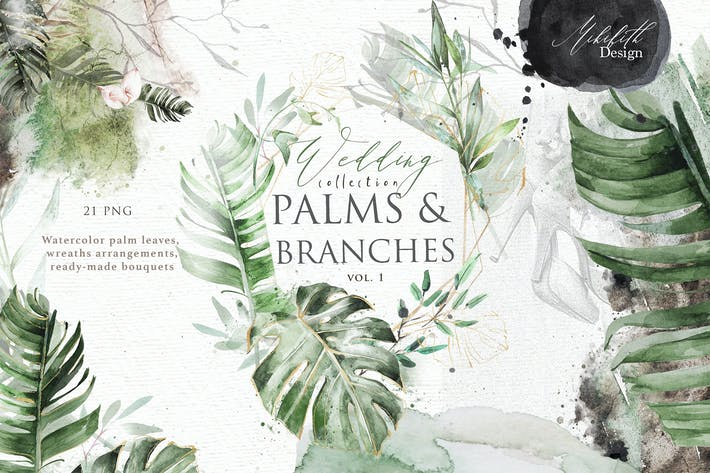 Cover Image For Palm & petals