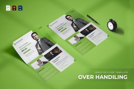 Over Handiling | Flyer