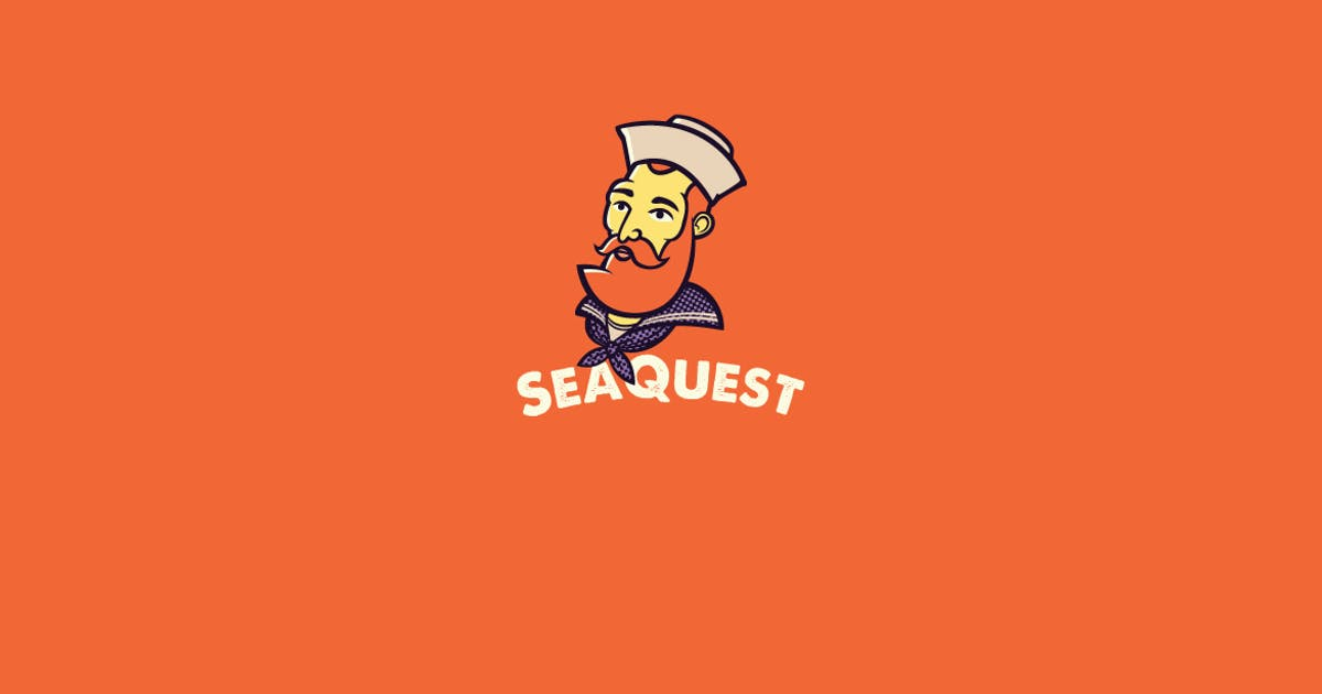 SeaQuest Logo Template by Ijajil