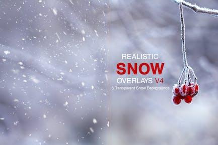 Realistischer Schnee