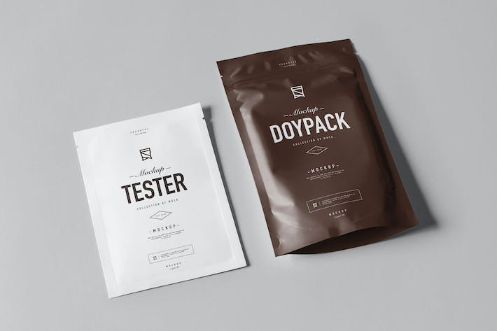 Cover Image For Doypack Mock-up