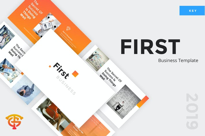 Thumbnail for First Business - Keynote