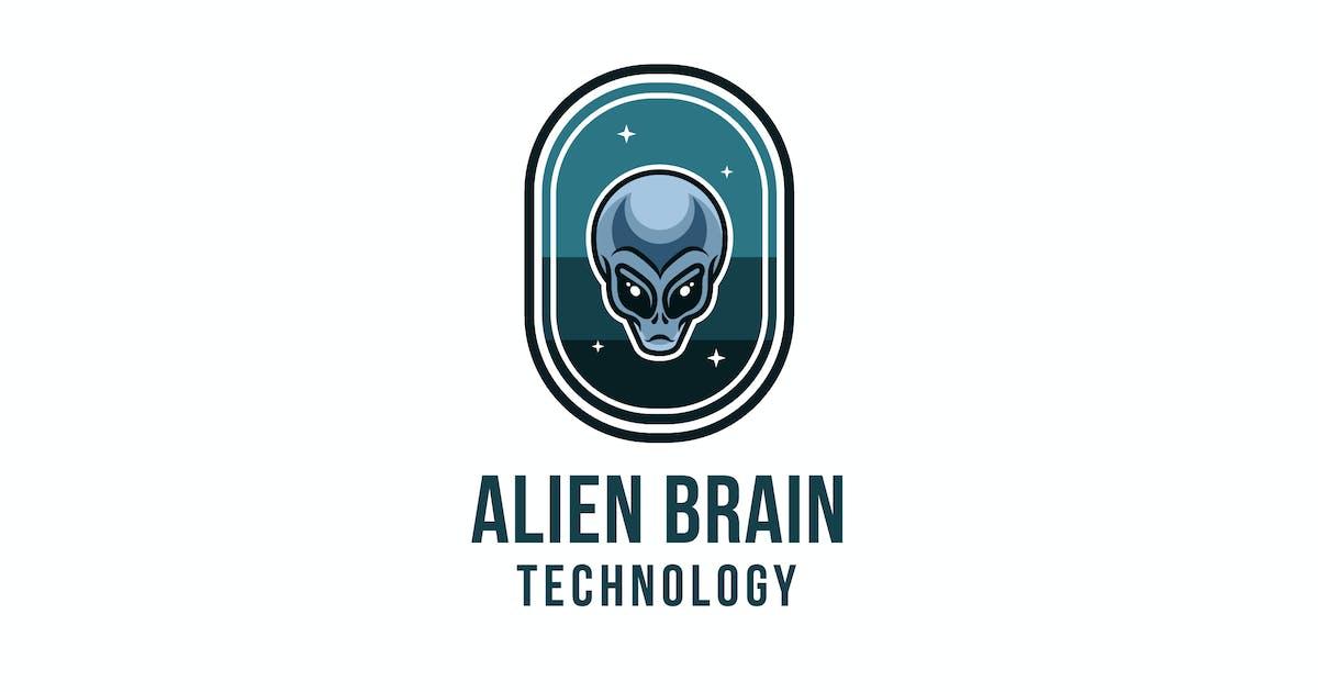 Download Alien Brain Technology Logo Template by IanMikraz
