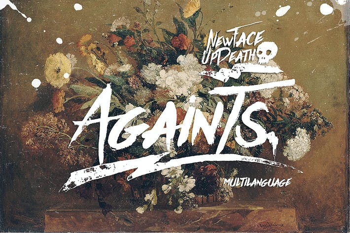 Cover Image For Againts Update Typeface