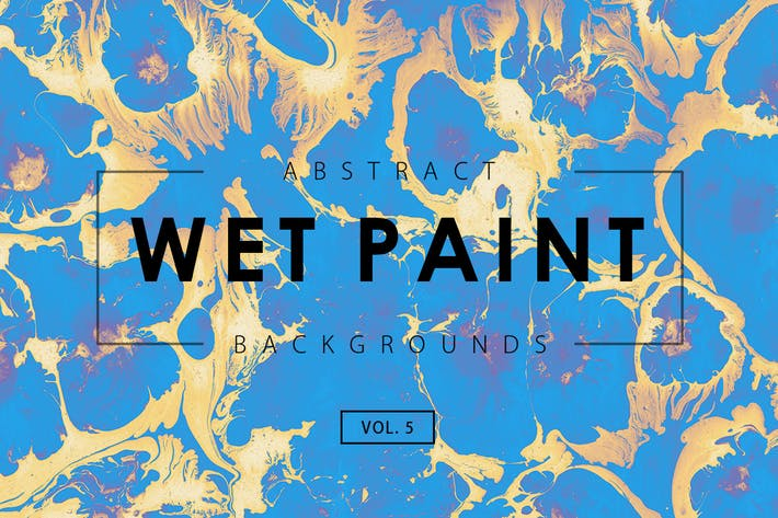 Thumbnail for Wet Paint Backgrounds Vol. 5
