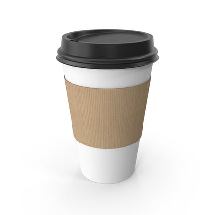 Kaffeetasse aus Papier