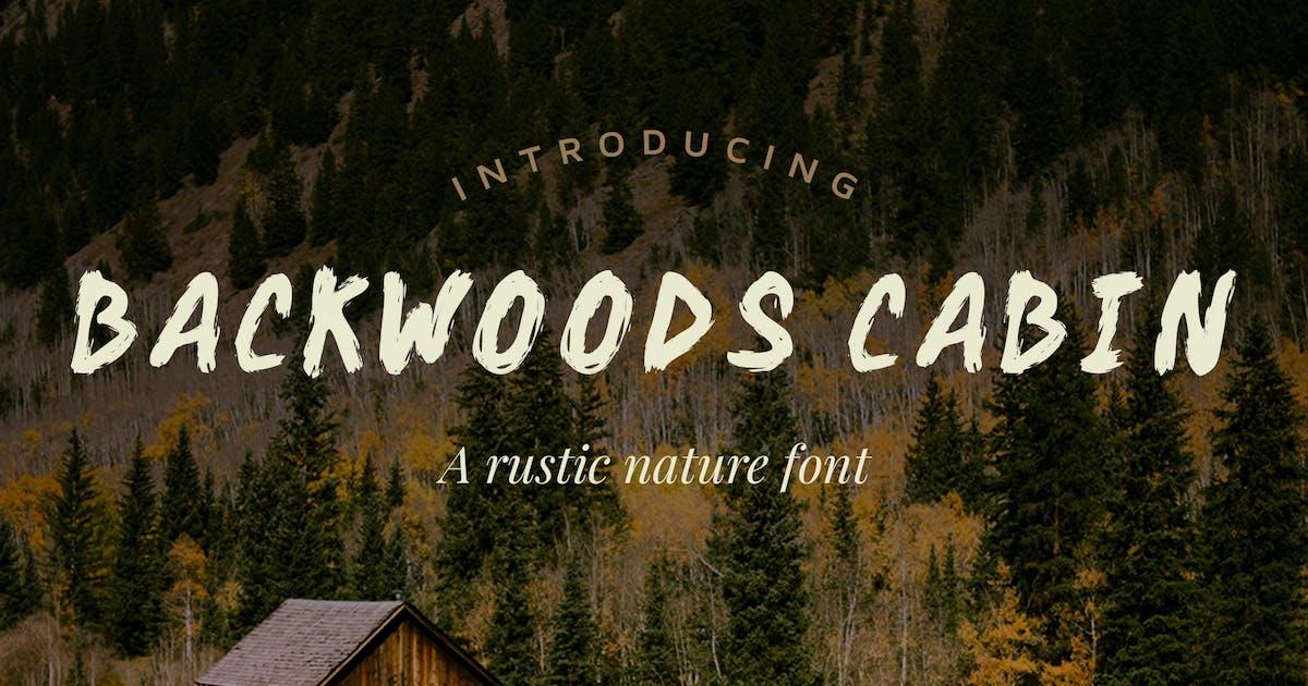 Download Backwoods Cabin Font by adrianpelletier