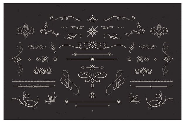 Flourishes & Dividers Vintage Collection