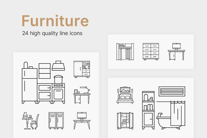 Thumbnail for Furniture Icons