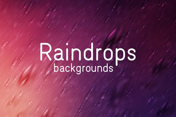 Thumbnail for Raindrops Backgrounds