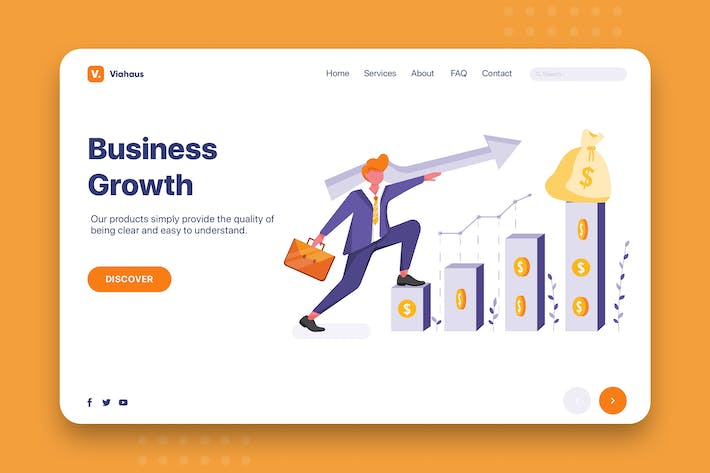 Business Growth - Corporate Web Header
