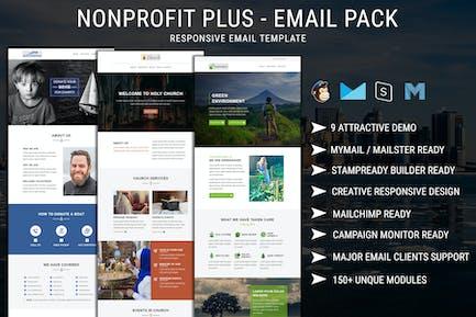 Nonprofit Plus - Email Pack