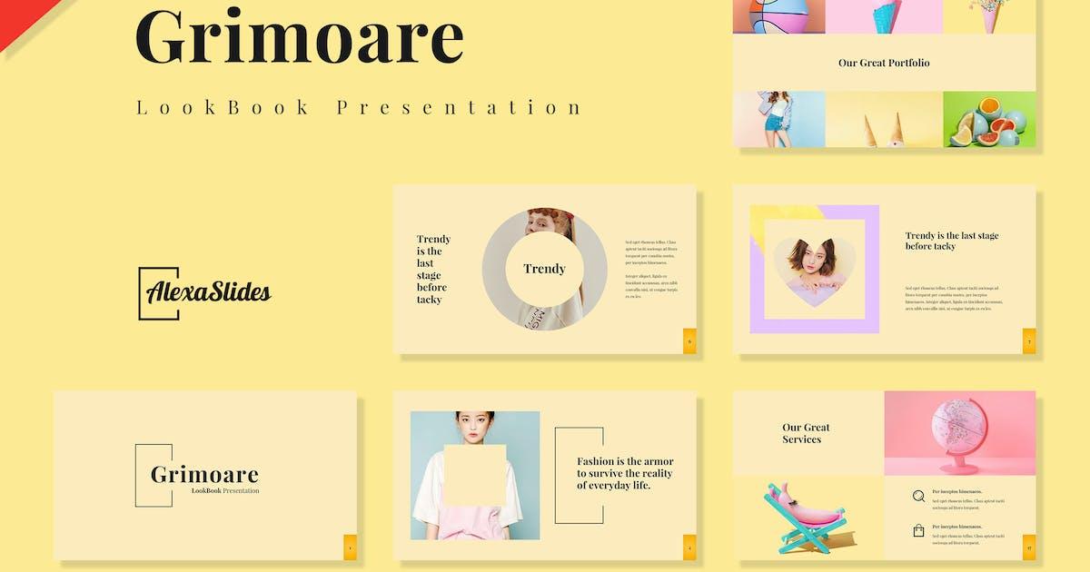 Download Grimoare - Lookbook Powerpoint Template by alexacrib