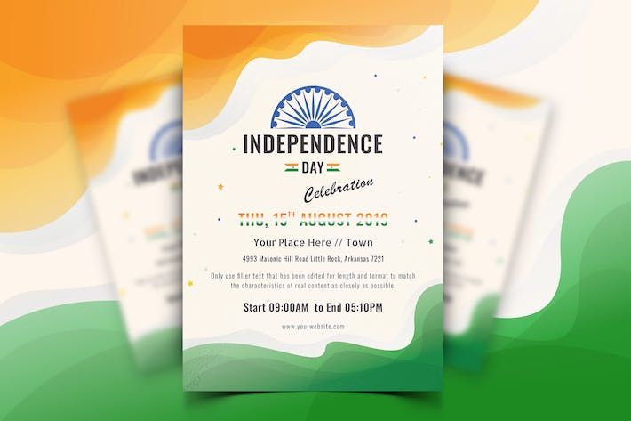 Thumbnail for Indian Independence Day Flyer-01
