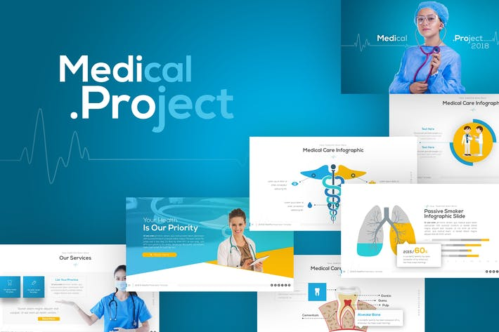 Thumbnail for Medipro Medical Presentation Template