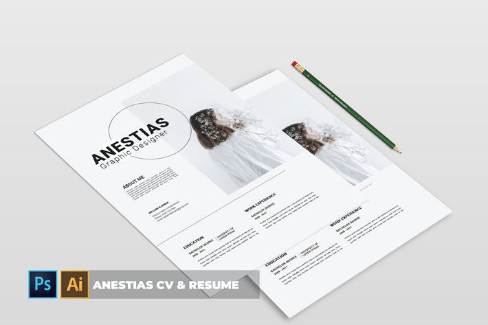 Thumbnail for Anastasya | CV & Resume