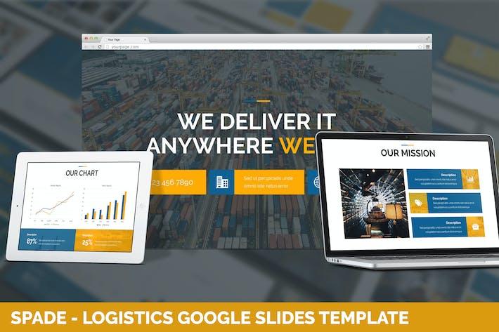 Thumbnail for Spade - Logistics Google Slides Template