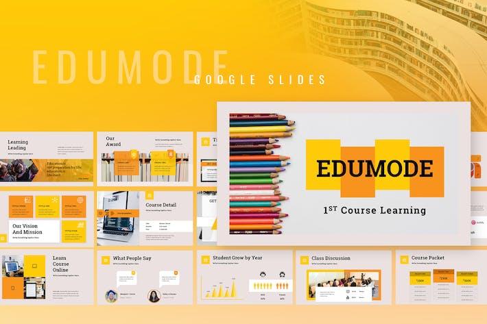 Thumbnail for Edumode - Education Google Slides Presentation