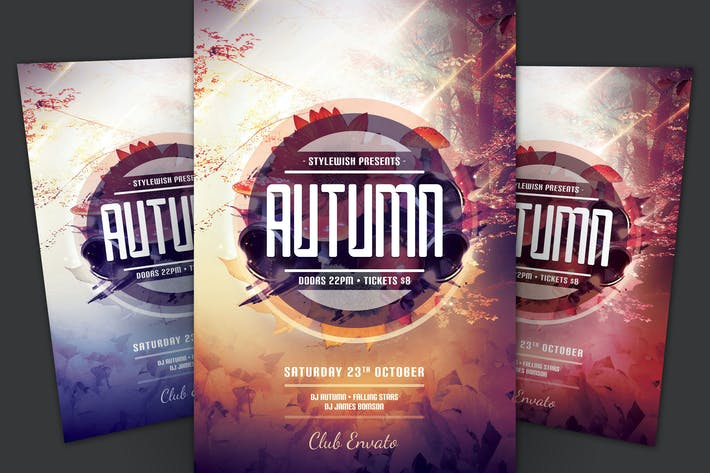 Thumbnail for Autumn Flyer