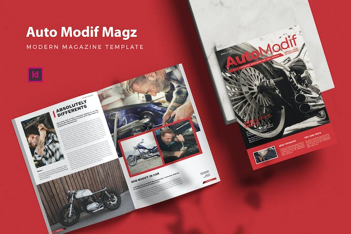 Thumbnail for Auto Modif Magz - Magazine