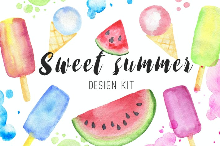 Thumbnail for Sweet Summer Design Kit