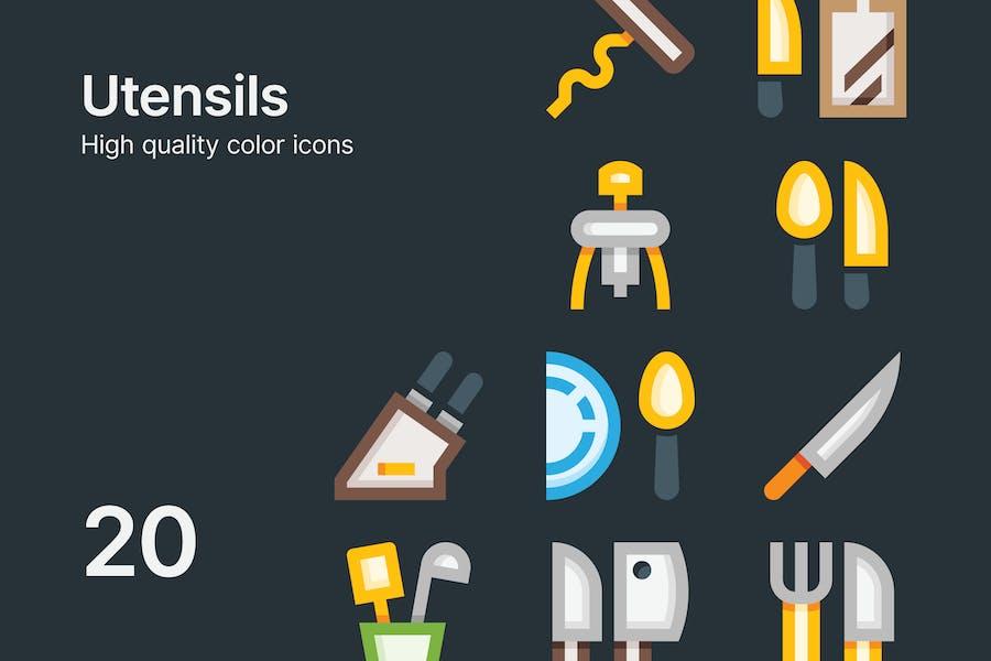 Utensil Icons