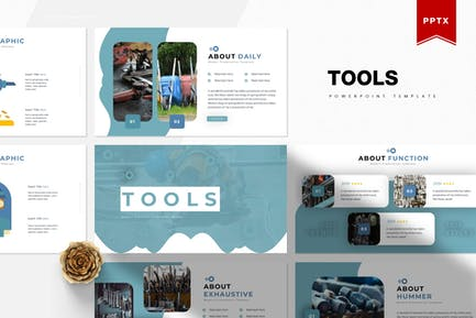 Инструменты   Шаблон Powerpoint