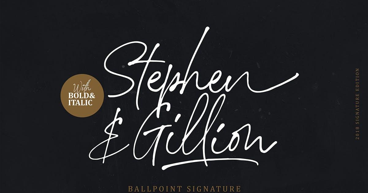 Stephen & Gillion - Signature Script by saridezra