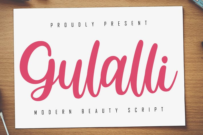 Thumbnail for Gulalli Modern Script