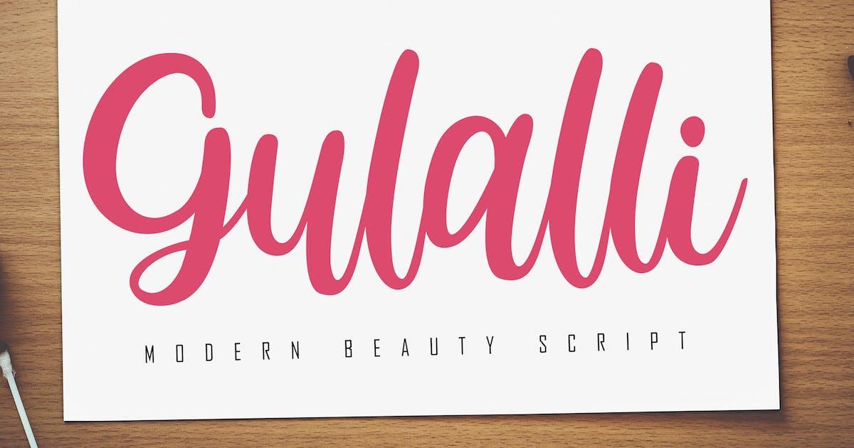 Download Gulalli Modern Script by Skiiller_studio
