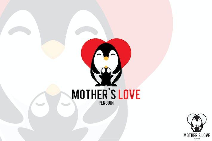 Thumbnail for Mother Penguin Vector Logo Mascot
