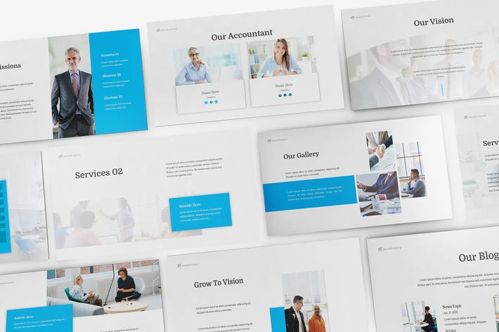 Thumbnail for Accountancy Google Slides Template