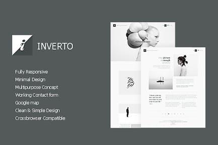 Inverto - Minimales HTMLThema