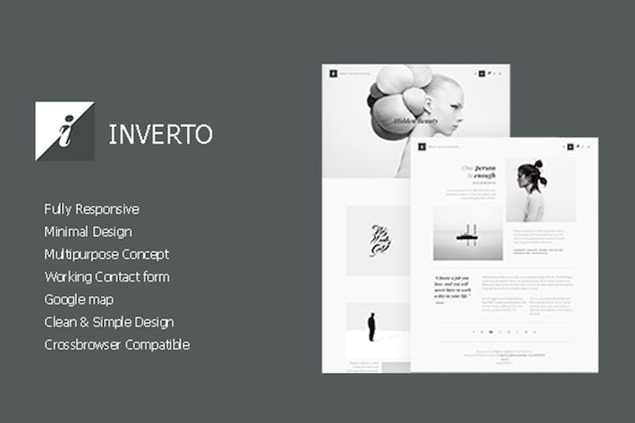 Download 1 Grayscale Website Templates - Envato Elements