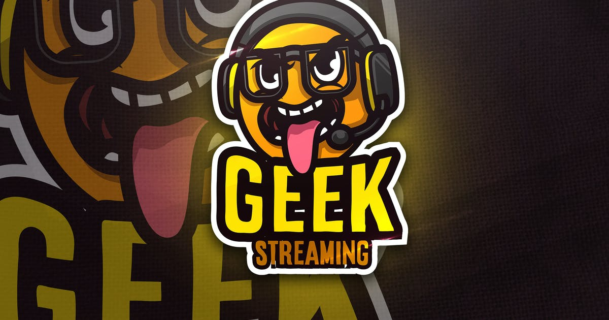 Download Geek Streaming - Mascot & Esport Logo by aqrstudio
