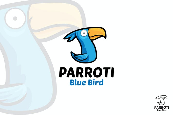 Thumbnail for Bird Logo Mascot