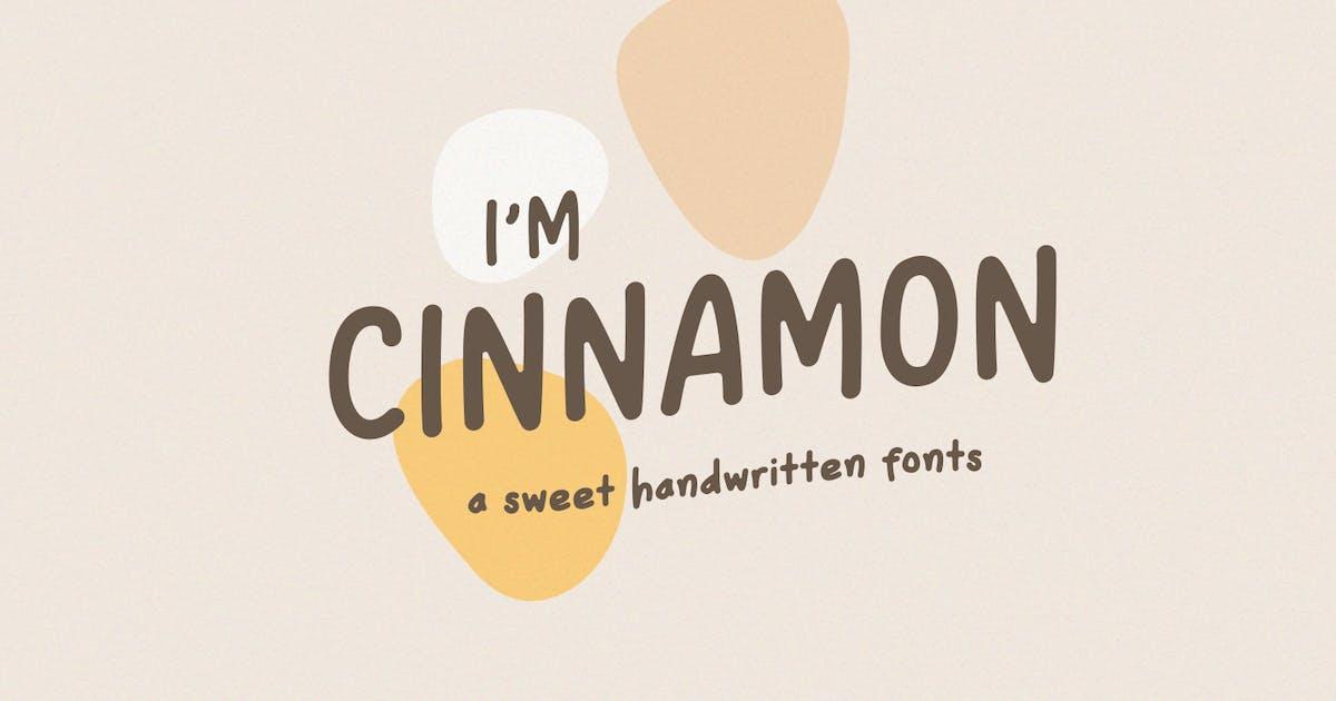 Download Cinnamon | A Sweet Handwritten Fonts by factory738