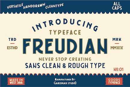 Freudian | Retro Typeface
