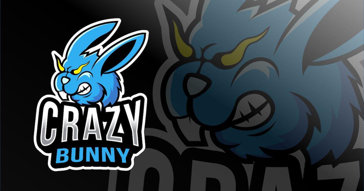Download Crazy Bunny Esport Logo Template by IanMikraz