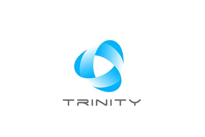 Thumbnail for Logo Triangle Trinity Triple Abstract
